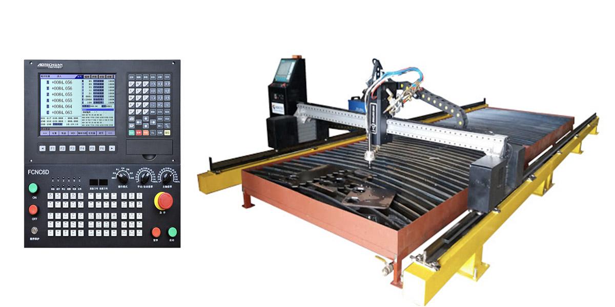 Máy cắt cnc hoạt động trên hệ điều khiển