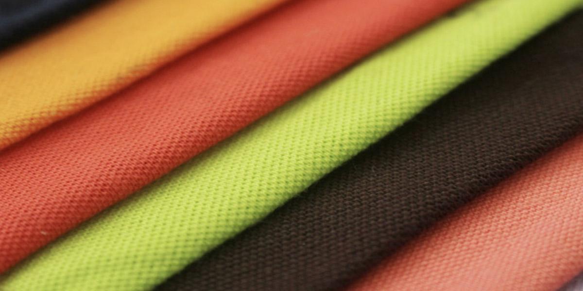 Vải cotton được nhuộm đa dạng màu sắc