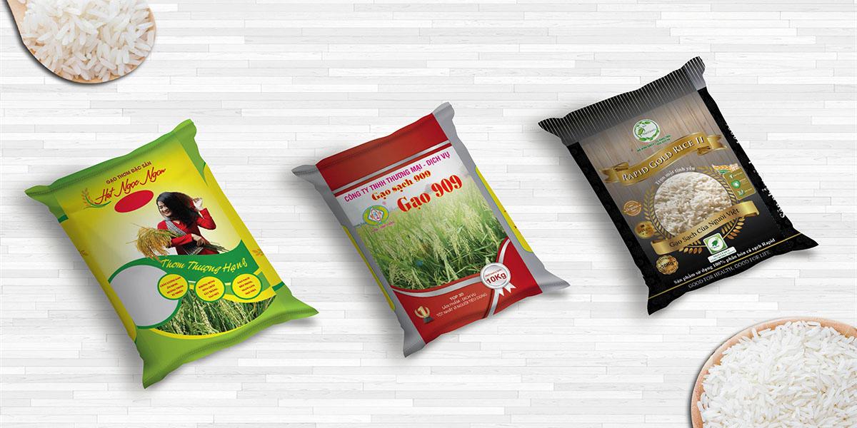 Yếu tố đánh giá bao bì đựng gạo