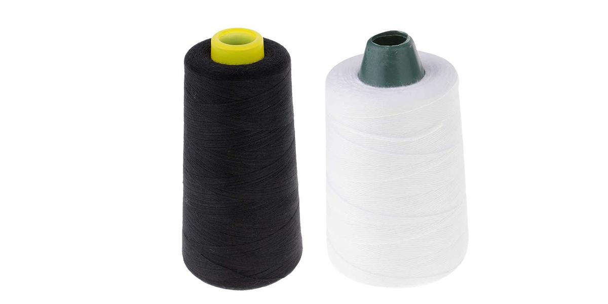độ bền cùng độ đàn hồi của chỉ polyester cực kỳ tốt