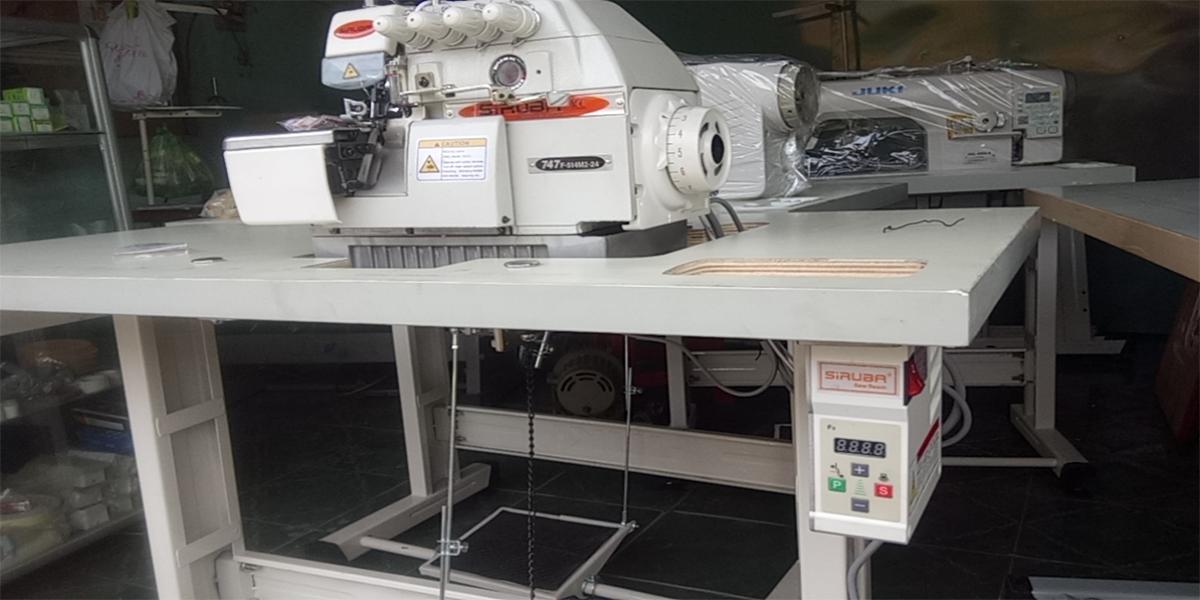 Các loại máy vắt sổ công nghiệp